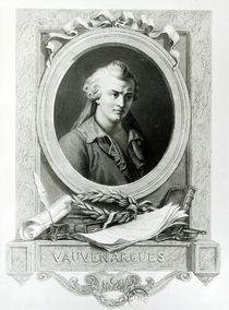 Luc de Clapiers Marquis of Vauvenargues von Charles Amedee Colin
