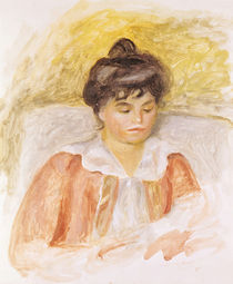 Portrait of Madame Albert Andre by Pierre-Auguste Renoir