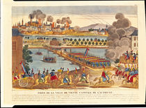 Siege of Vienna, 10th May 1809 by French School