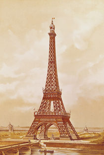 The Eiffel Tower, 1889 by French School