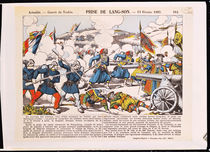 The Siege of Lang-Son, 13th February 1885 von French School