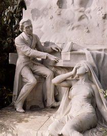 Monument to Frederic Chopin von French School