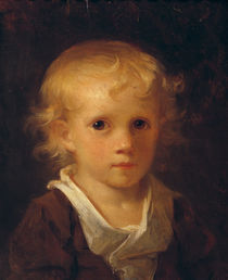 Portrait of a Child von Jean-Honore Fragonard