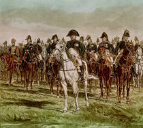 Napoleon I and his Staff, c.1860 by Jean-Louis Ernest Meissonier