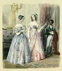 Leaving for the Ball, 1830-48 by Alexandre Colin