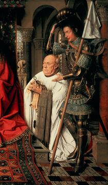 Detail of Canon Joris van der Paele von Jan van Eyck