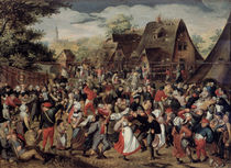 The Village Festival by Pieter Brueghel the Younger
