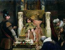 Homage to Clovis II von Albert Pierre Rene Maignan
