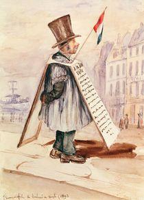 The Sandwich Board Man, Boulevard du Temple von French School