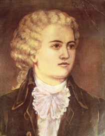 Wolfgang Amadeus Mozart during his stay in Prague in 1787 by Austrian School
