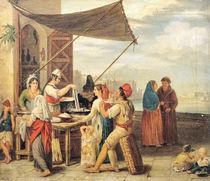 The Italian Market by Jean Mieg