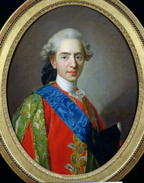 Portrait of Dauphin Louis of France aged 15 by Louis Michel van Loo