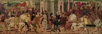 Entry of Titus Flavius Vespasian and Titus into Rome von Italian School