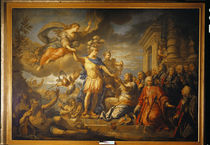 Allegory of the Peace of Aix-la-Chapelle by Jacques Dumont