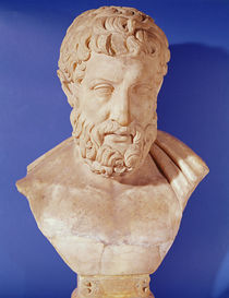 Bust of Metrodorus of Chios by Greek