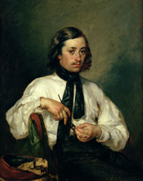 Portrait of Armand Ono, known as The Man with the Pipe von Jean-Francois Millet