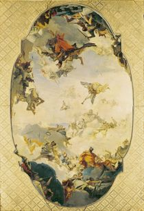 Sketch for The Apotheosis of the Pisani Family by Giovanni Battista Tiepolo