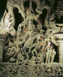 Lintel with Shiva Nataraja by Indian School