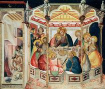 The Last Supper by Pietro Lorenzetti