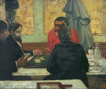Card Players, 1883 by Charles Cottet