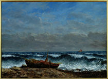 The Stormy Sea or, The Wave von Gustave Courbet