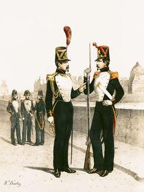 The Parisian Municipale Guard von French School