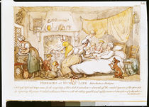 Miseries of Human Life: Introductory Dialogue by Thomas Rowlandson