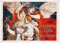 'Subscribe to Hasten Peace by Victory' von Paul Albert Besnard