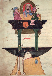Water clock with automated figures von Islamic School