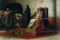 Pope Formosus and Pope Stephen VI in 897 by Jean Paul Laurens