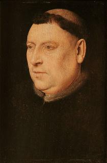 Portrait of a Monk by Flemish School