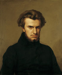 Portrait of Ambroise Thomas 1834 by Hippolyte Flandrin