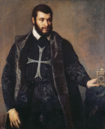 Portrait of a Knight of the Order of Malta by Titian
