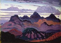 Deep Twilight, Pyrenees, c.1912-13 by James Dickson Innes