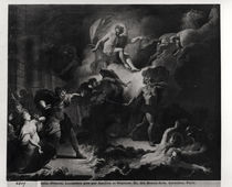 Laemedon Punished by Apollo and Poseidon by Pierre Dulin