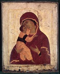 Umilenie Virgin of Wladimir von Russian School