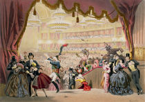 Ball at the Opera by Eugene Charles Francois Guerard