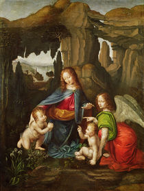 Madonna of the Rocks von Leonardo Da Vinci