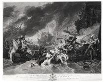 Battle of the Hague, 29th May 1692 von Benjamin West