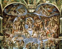 Last Judgement, from the Sistine Chapel von Michelangelo Buonarroti