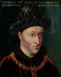 Portrait of Charles VII by French School