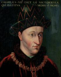 Portrait of Charles VII von French School