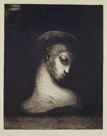 Female Head von Odilon Redon