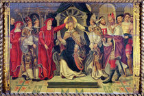 Coronation of Pope Celestine V in August 1294 by French School