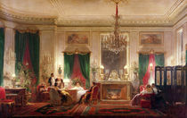 Salon of Princess Mathilde Bonaparte Rue de Courcelles von Charles Giraud