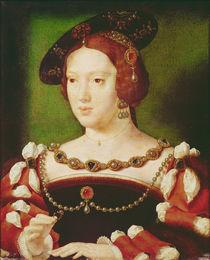 Portrait of Eleanor of Hapsbourg by Joos van Cleve