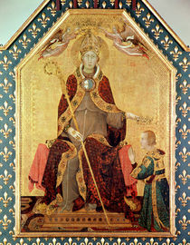 St. Louis of Toulouse crowning his brother von Simone Martini