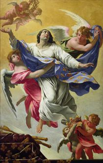 Apotheosis of St. Louis, 1639-42 by Simon Vouet
