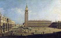 Piazza San Marco, Venice von Canaletto