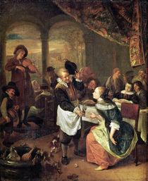 The Gallant Innkeeper von Jan Havicksz Steen